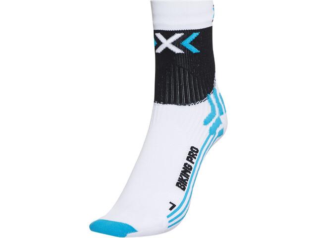 X-Socks Biking Pro Cykelstrømper Damer hvid/turkis | Strømper